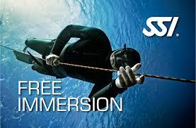 Specialità SSI Freediving Free Immersion